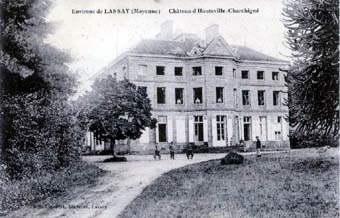 Le château de Hauteville