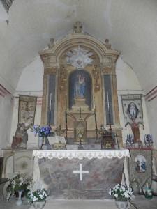Chapelle Mariette, Retable