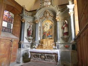 Eglise St Saturnin choeur