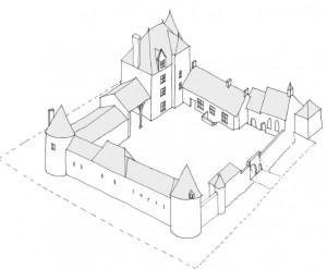 La Helberdière - Etat en 1500