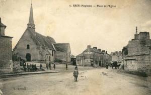 Aron, ancienne église