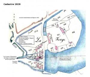 Cadastre 1828 Aron