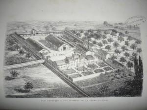 vue générale Avoise 1872