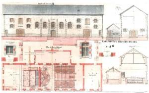 vue + plan distillerie 1872
