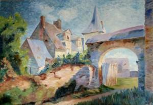 Tableau de Mme Triguel, Coll. privée