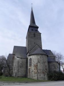 Eglise St Blaise à Bonchamp