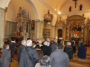 Eglise St Blaise à Bonchamp - Chaire