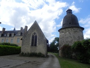 Coudray chapelle pigeonnier