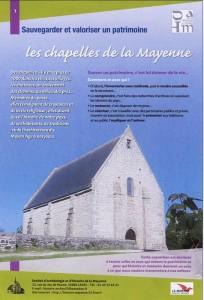 Panneau expo chapelles