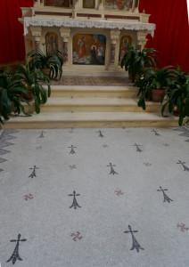 La Brûlatte, église