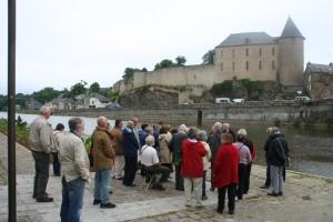 Mayenne médiévale, groupe
