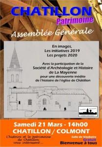 Affiche Châtillon