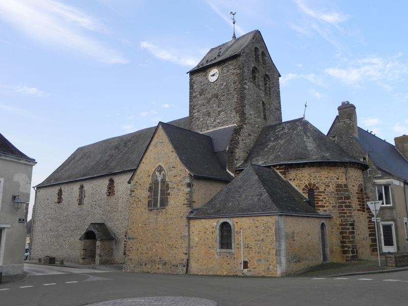 Cossé en Champagne, église 01